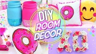 DIY BRIGHT & FUN ROOM DECOR! Pinterest Room Decor for Spring and Summer!