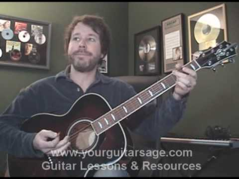 Guitar Lessons - All Star by Smash Mouth - cover lesson shrek Beginners Acoustic songs