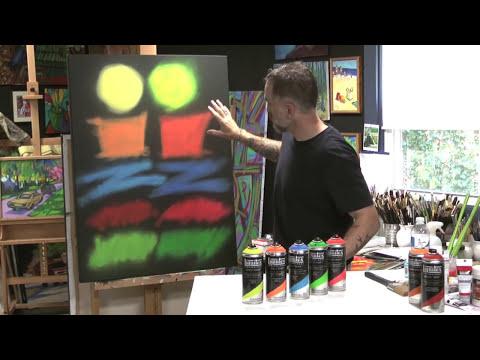 Liquitex Fluorescent Spray Paint