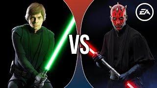 VS Rants | Luke Skywalker vs Darth Maul