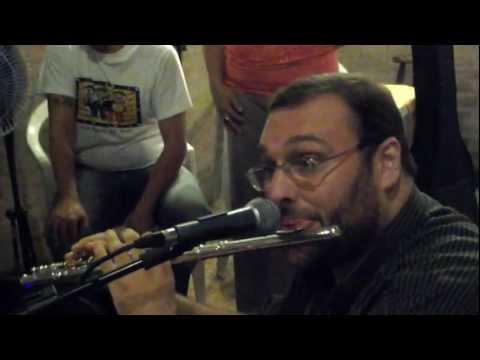 O flautista Antonio Rocha no Choro da Villa - A Glória