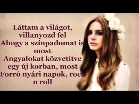 Baixar Lana Del Rey - Young & Beautiful MAGYARUL