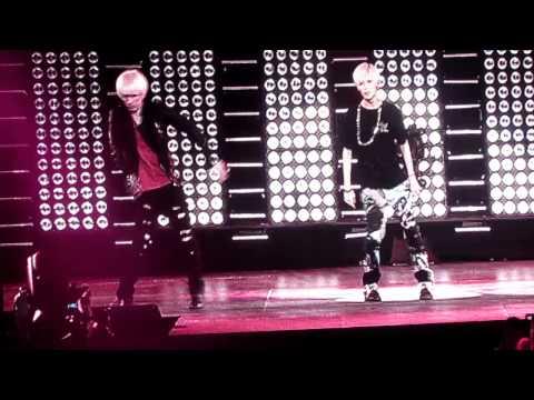 [HD] Eunhyuk and Taemin dance battle at SMTown NYC MSG