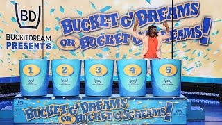 A Deserving Mother Plays 'Bucket O' Dreams or Bucket O' Screams!'