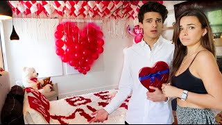I ASKED MY BEST FRIEND TO BE MY VALENTINE.. (SURPRISE)