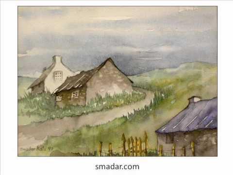 353 Simple Watercolor Paintings Nature 830