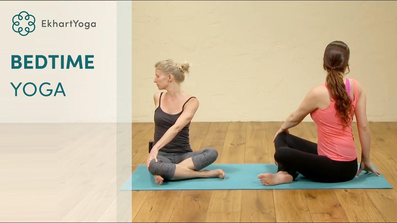 Bedtime Yoga - YouTube
