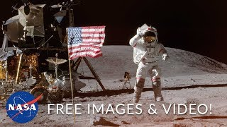 NASA Copyright FREE AMAZING Video & Photography You Can Use!