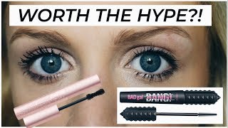 BENEFIT BAD GAL BANG VS. TOO FACED BETTER THAN SEX MASCARA | IS IT WORTH IT?!?!  ALYSSA ROSE