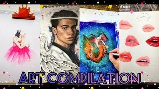 Tik Tok ART Compilation 2019 | TOP Tik Tok
