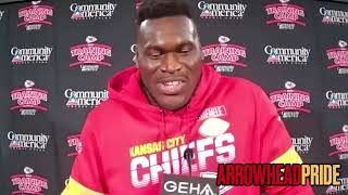 Kelechi Osemele can't wait to play with Patrick Mahomes