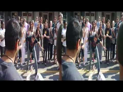 Abadá-Capoeira San Francisco@ City Streets San Francisco Western Addition (yt3d:enabled=true)
