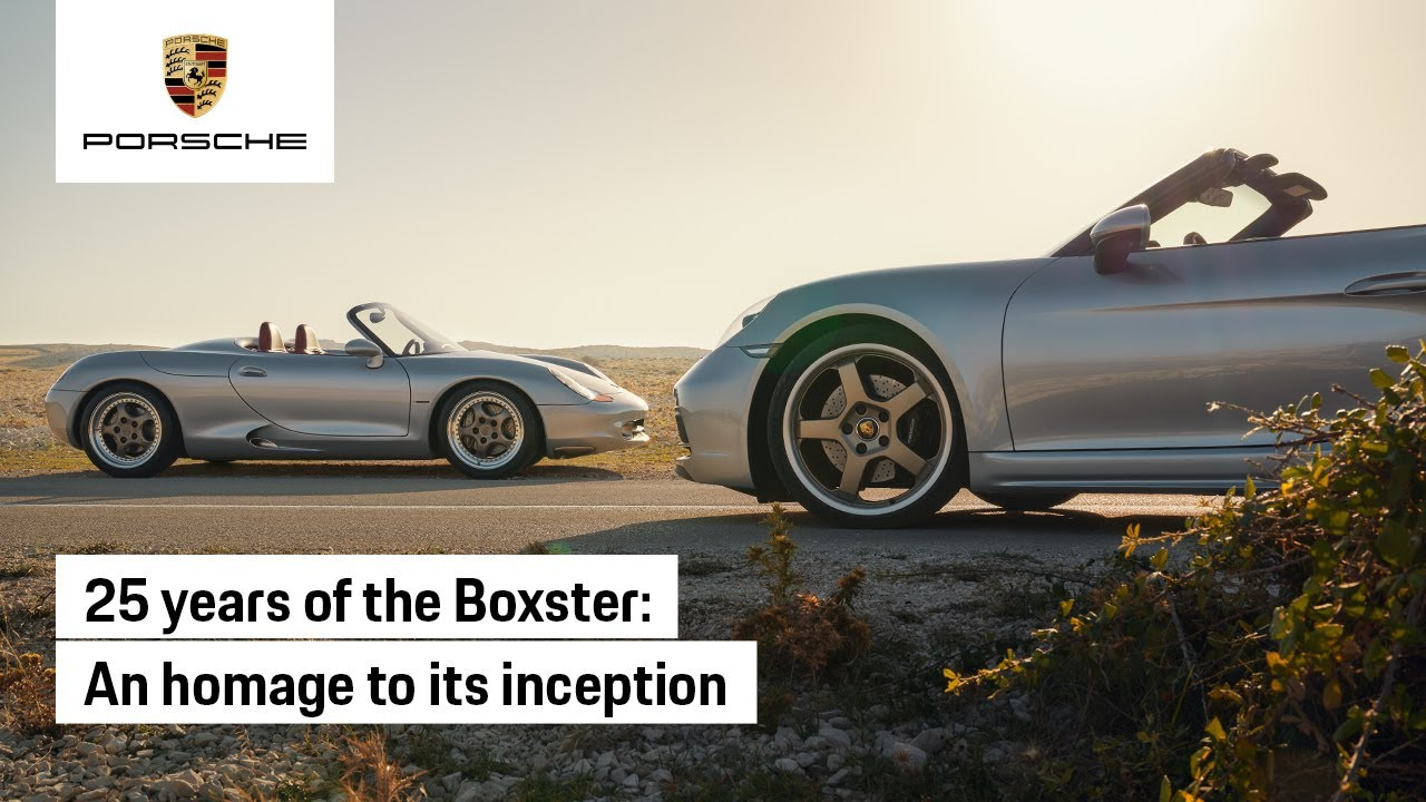 The Boxster at 25: An Homage to its Inception