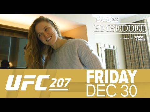 """UFC 207 Embedded, cz. 5: """"Tego się nie spodziewałam."""" (+video)"""