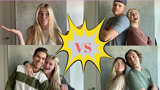 BATTLE OF THE COUPLES!! *we shared some personal information*
