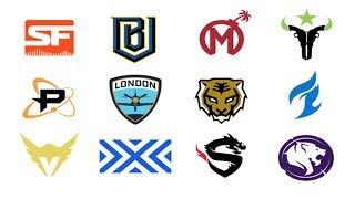 OVERWATCH LEAGUE | ALL 12 TEAM NAMES, LOGOS, & SKINS