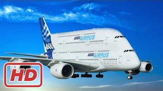 [ Mr Eight ] Incredible planes ✈ Biggest Airplanes in the World ✈ AirBus A380 Boeing 747