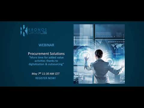 Build an industry-leading procurement team