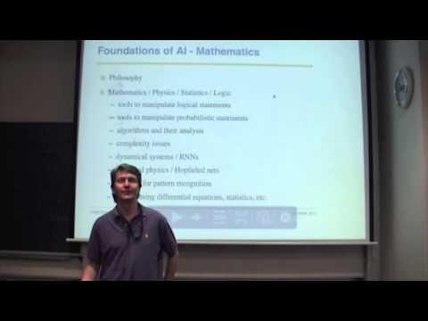 Baixar Lec 1: Artificial Intelligence - Alan Blair UNSW 2012