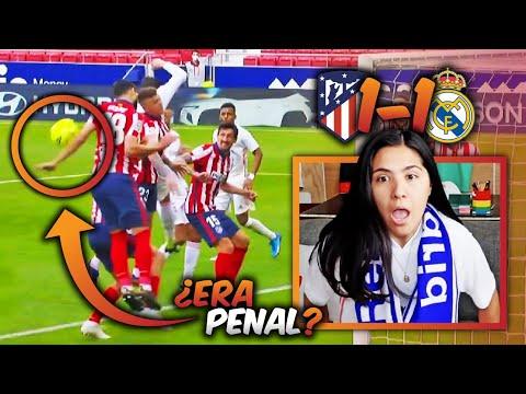 ENOJADA SIEMPRE. Reacción: ATLETI vs REAL MADRID. (1-1) ¿ERA MANO?
