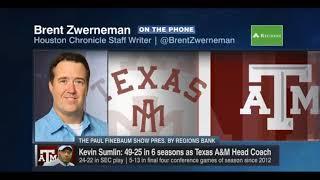 Jimbo Fisher to Texas A&M Rumors on Paul Finebaum