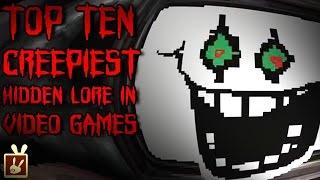 Top Ten Creepiest Hidden Lore in Video Games