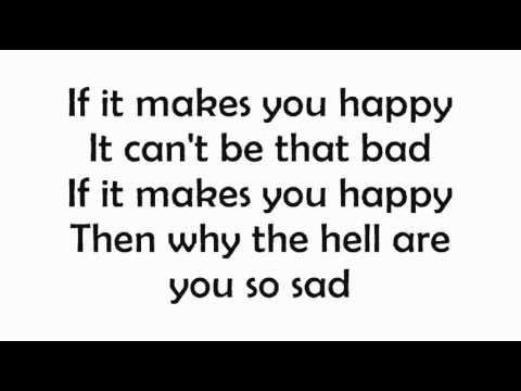 Sheryl Crow - If It Makes You Happy (Lyrics)