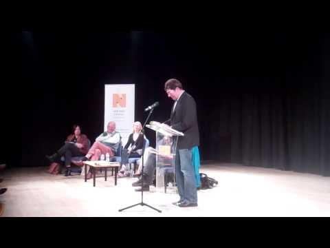 Robin Hemley reads short story 'Reply All' at Worlds Literature Festival