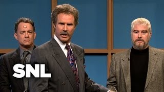 /celebrity jeopardy kathie lee tom hanks sean connery burt reynolds snl