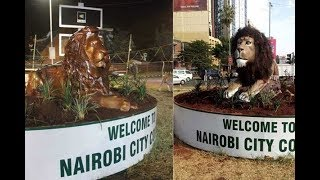 Governor Sonko heeds to Nairobians rejection of ugly lions statue