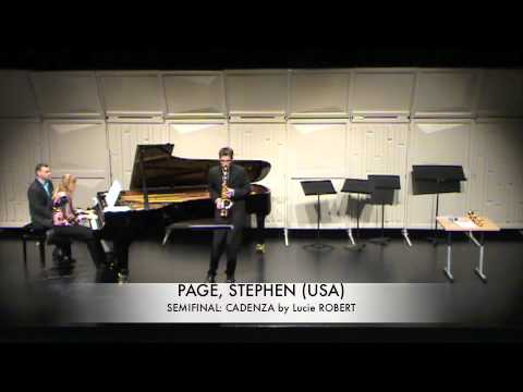 PAGE, STEPHEN USA CAdenza Lucie Robert