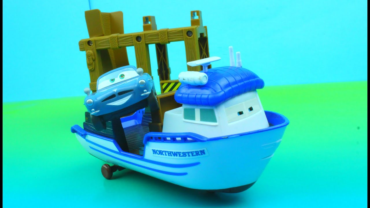 Cars  Action Agents Crabby Boat Playset