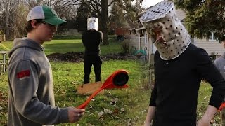 Clay Pigeon Vs. Lord Buckethead