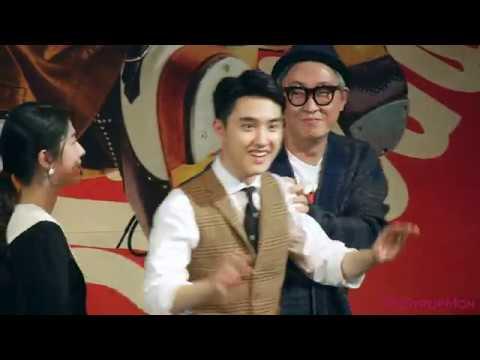 [1080p] 181112 엑소 EXO 디오 D.O. 도경수 스윙키즈 쇼케이스 - 북한어, 몸으로 말해요, 단독샷, 마지막 인사