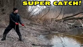 MAGNET FISHING! WE DIDN'T EXPECT SUCH CATCH! CrazySeeker!