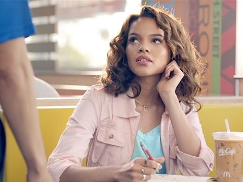 "Yes, it's a real musical starring Leslie Grace, and yes, it's by McDonald's. UnPoquitoDeLovin.com stars the Dominican-American bachata singer, who is at McDonald's and suffering from a serious case of writer's block for her new song. See how an employee (played by Daniel ""Cloud"" Campos, who also was the director and choreographer) inspires her to see the lovin' in the things that happen at McDonald's every day."