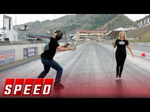 Walk 1000 feet with Deric Kramer | 2018 NHRA DRAG RACING