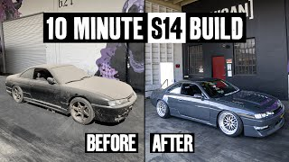 Building a 550hp 1JZ Nissan 240SX - in 10 Minutes!
