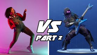 Professional Dancers Try The Fortnite Dance Challenge • Part 2