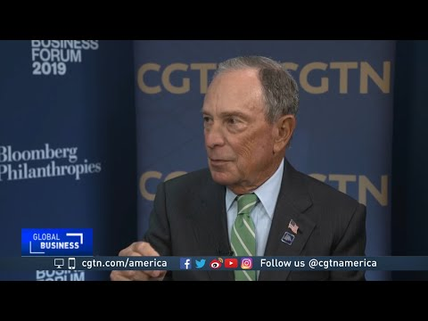 Michael Bloomberg on climate change & his health campaigns