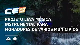 Projeto leva música instrumental para moradores de vários municípios