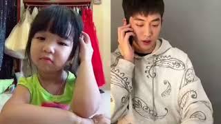 Tik Tok (Bố và Bối) tổng hợp 10 clip cute nhất của Bố và Bối