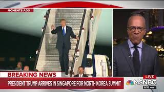 """NBC's Lester Holt Highlights The """"Remarkable"""" Efforts That Have Led To The Historic NK Summit"""