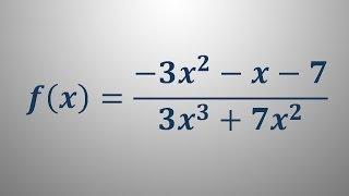 Definicijsko območje racionalne funkcije 2