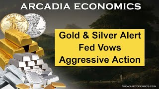 "Gold and Silver Alert: ""Fed Vows Aggressive Action"""