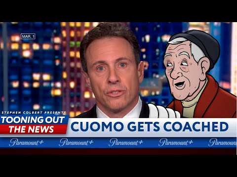 Chris Cuomo gets coached on dodging brother's scandal