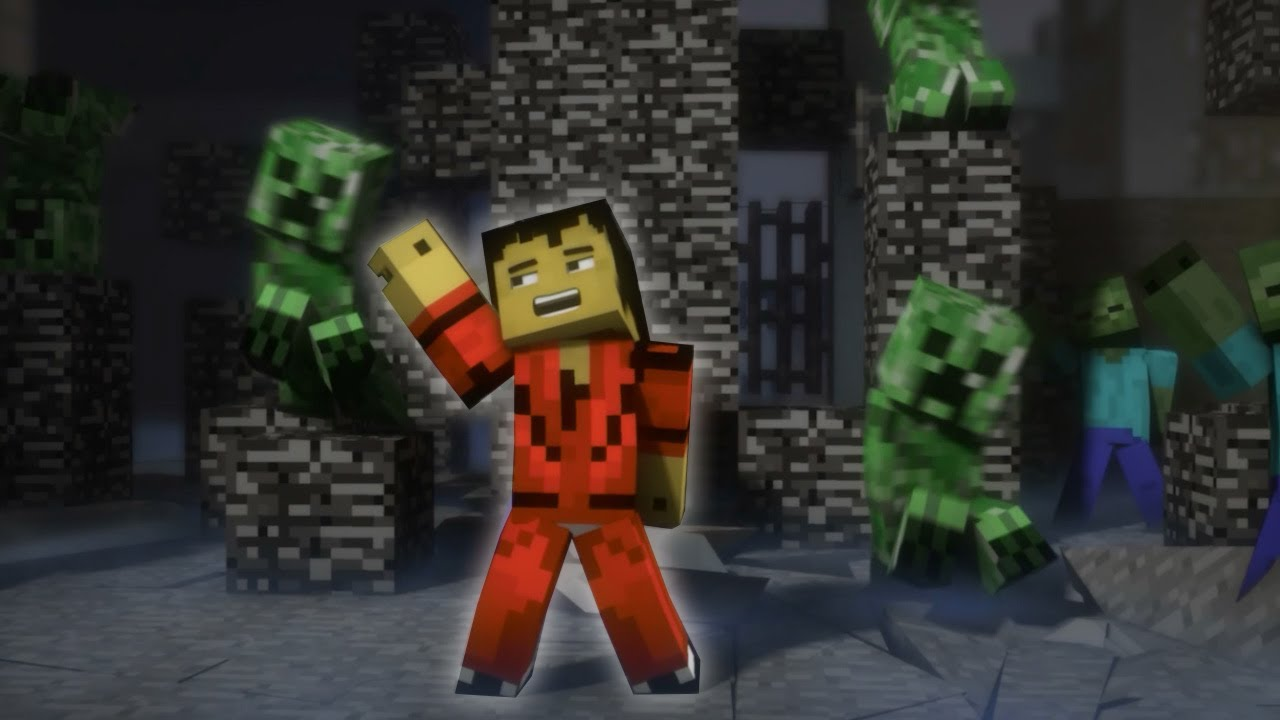 "♫ ""Creeper"" - A Minecraft Parody of Michael Jackson's Thriller (Music Video)"