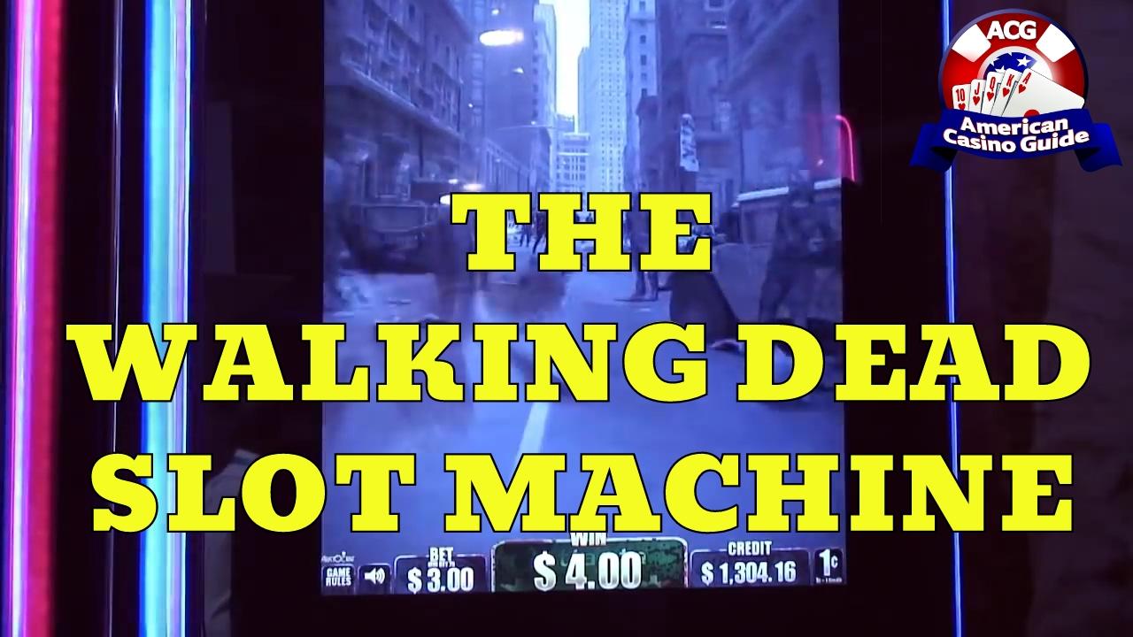 The walking dead online slot machine