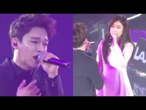 2014.04.06 Exo Chen & Zhang Li Yin - Breath @ Jackie Chan's 2014 Peace, Love & Frienship Concert