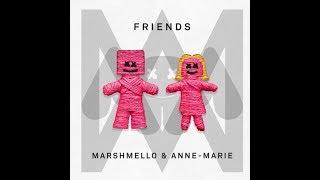 Friends (Clean Radio Edit) (Audio) - Marshmello & Anne-Marie